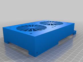 Ender 3 Pro power supply housing double fan