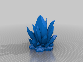 Large 7 hex Crystal terrain