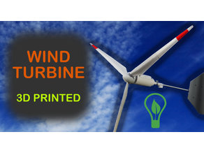 Wind turbine for 775 engine