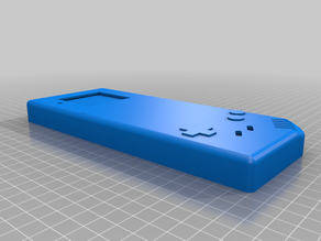 Long GameBoy (inspired by The Retro Future)