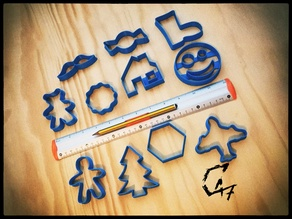 Christmass cookie cutters