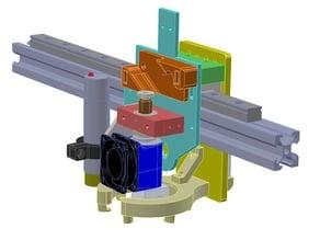 X5S Linear Rail Upgrade & E3DV6 Part Cooler Design