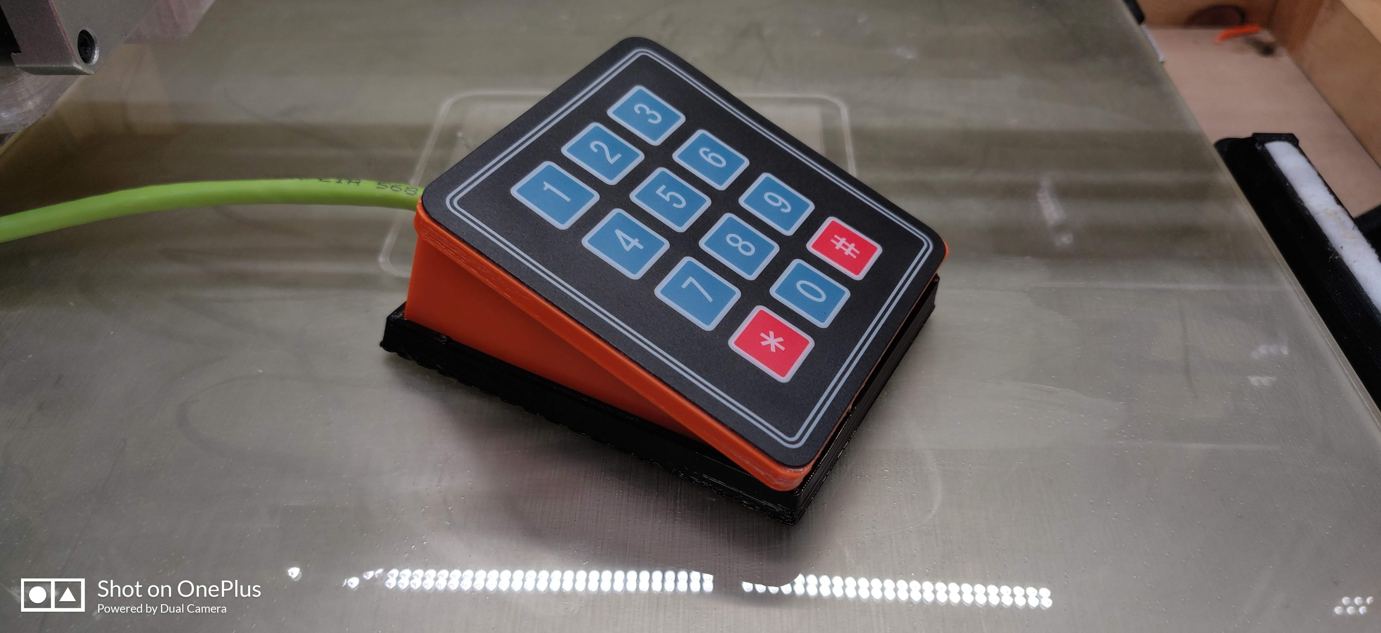 3x4 and 4x4 Keypad Controller For Octoprint