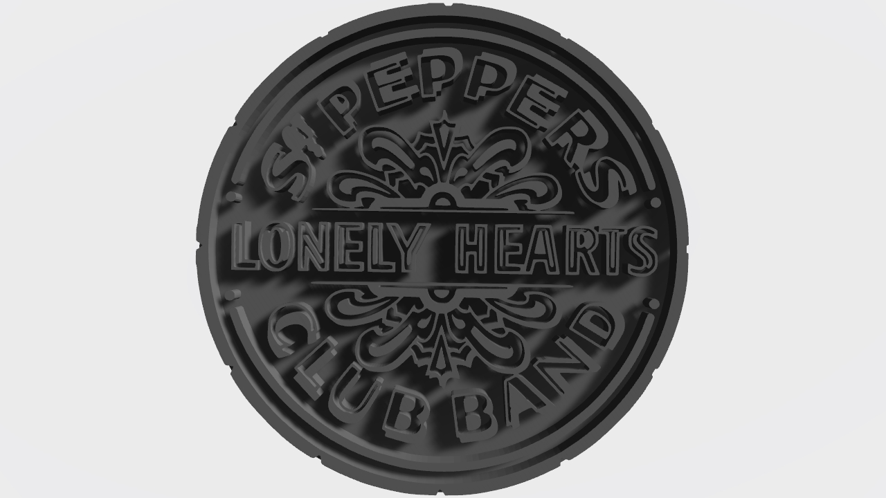 Beatles Sgt. Peppers Lonely Hearts Club Band Logo