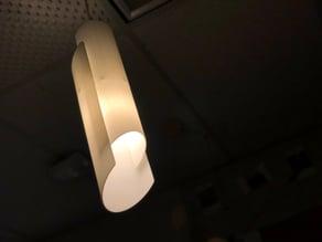 Ribbed Angle Offset Light
