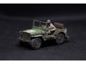 Jeep Willy 1:56 (28mm bolt action)