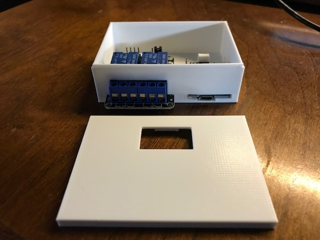 Wemos D1 Relay 2 Box