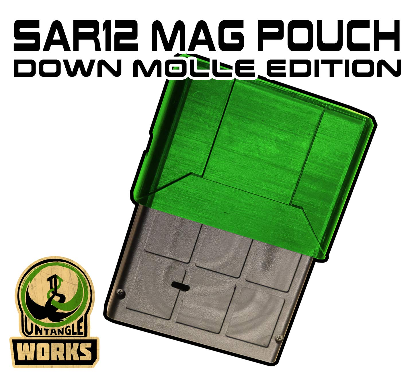 SAR12 MAG Pouch Molle DOWN edition