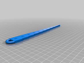 Combine sieve setting tool mm