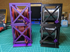 Stackable Solder/Wire Spool Holders