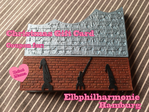 Christmas Gift Card Coupon Elbphilharmonie Hamburg