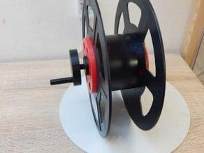 Spulenhalter mit Kurbel - Spool holder with winder