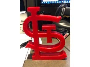 St. Louis Cardinals Logo Desk Display