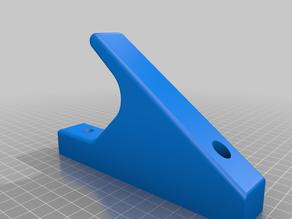 Barbell holder - gun rack style