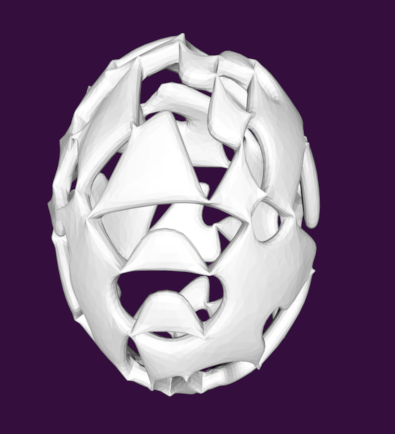 Geo Easter Egg and Christmas ornament