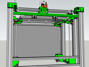 BLV Cube Kinematic three z-axis support assembly for active bed leveling