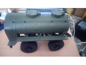 Trailer dolly for fuel tank 1/16