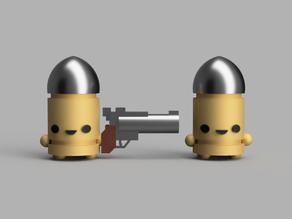 Bullet Kin Enter the Gungeon