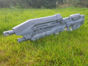 Halo MA5B rifle prop