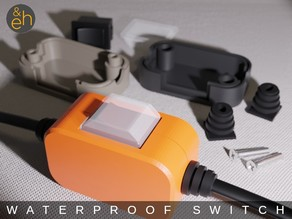 Waterproof In-line Cord Switch / Power Cable Switch Box