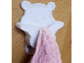 Winnie The Pooh Towel Hook