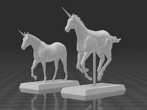 Unicorns 28mm Miniatures