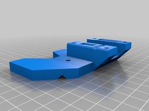 Hemera Mount Bracket for Modern Lulzbot Carraige (Taz Pro, Taz Workhorse, Mini 2)