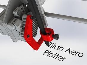 Titan Aero Pen Plotter Mod