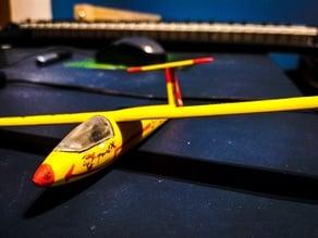 """Polish Glider Model SZD-30 """"Pirat"""""""