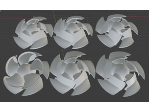 Conical Fence CPU Fan Series