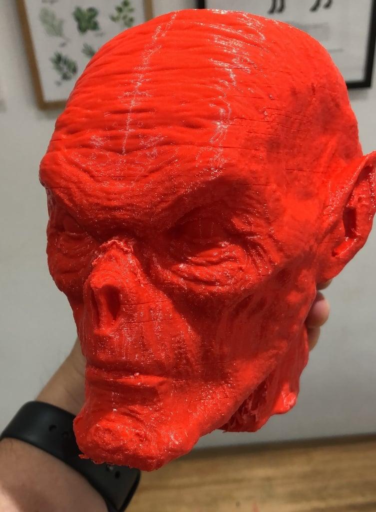 Demon head