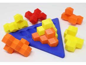 Tetrahedron Building Blocks