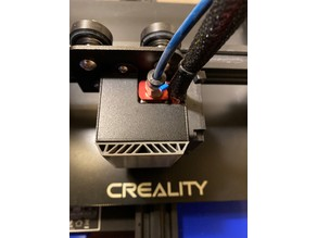 Hot End Fan Shroud for Ender 3 and Ender 3 Pro and CR-10