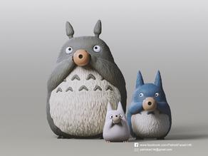 Totoro Family(My Neighbor Totoro)
