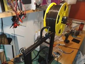 Flexible filament runout sensor holder
