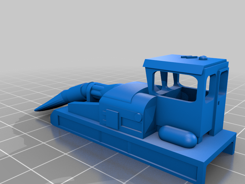 Jet Snowblower Model Railroad