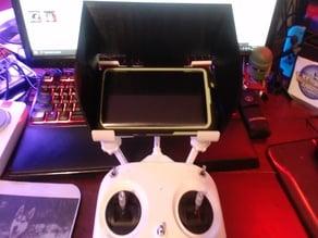 Samsung Galaxy S9 Sun Hood/Visor for DJI Phantom Drones