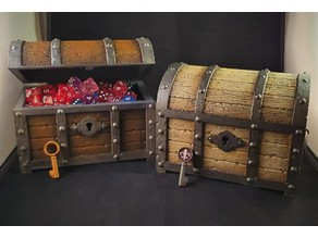 Treasure chest - Working Lock