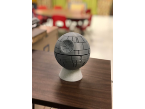 Echo Dot 2 Death Star Stand