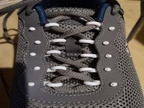 self adjusted shoe lace