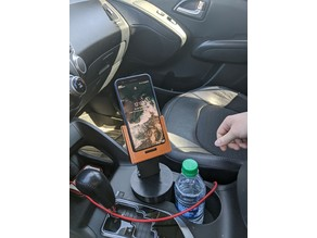 Phone car cup holder- Fits Pixel 3 with case