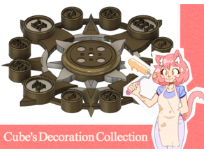 Sun Clock - Cube's Decoration Collection