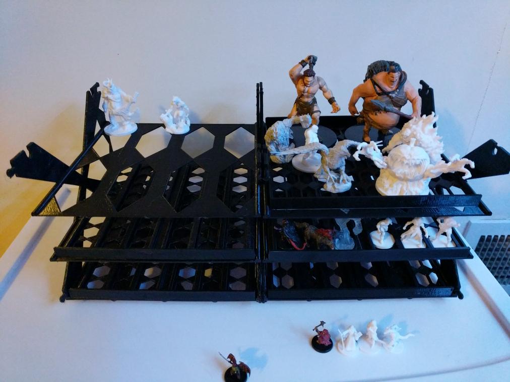 Mini Storage Trays And Shelves Light