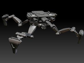 Posable Sci-Fi Tank - MK 01