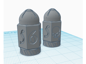 Bolter shell D6 dice