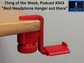Yet ANOTHER Headphone Hanger