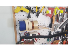 Pegboard Tapes Holder