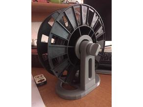 Holder stand for spool. Options for table or profile 40x20