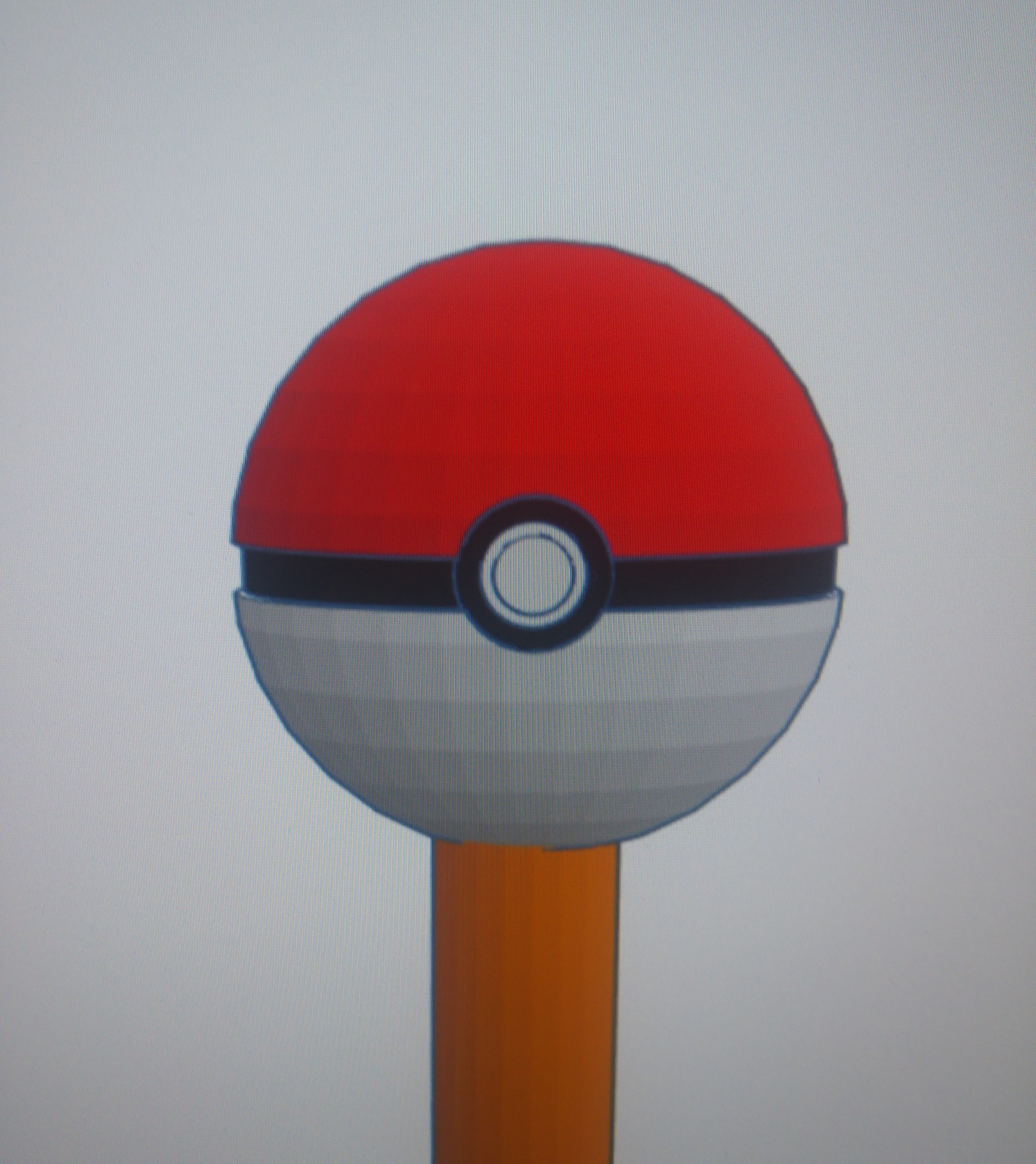 Pokeball Pencil Topper