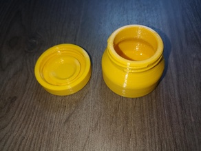 Watertight (nearly) round container - Size 2